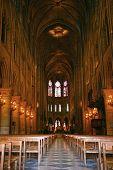 Notre Dame inside nav