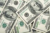 Fondo de billetes de dólar