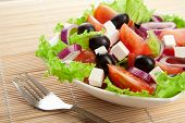 stock photo of greeks  - greek salad - JPG