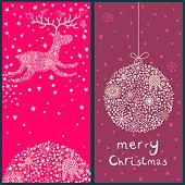 Постер, плакат: Рождественские открытки