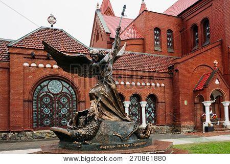 Bronze Sculpture Of Archangel Michael
