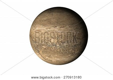 Rock Brown Dead Planet With