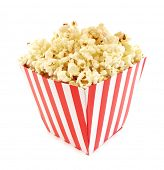 picture of popcorn  - Popcorn cardboard box for cinema - JPG
