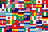 32 National flag football world 2010 Pattern