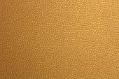 Pattern of Gold Fake Leather Texture
