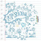 Garabatos de primavera
