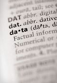 Dictionary Series - Info: Data