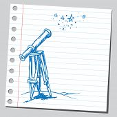 Scribble telescope
