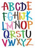 Vector Illustrate Alphabet