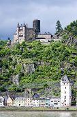 Cutts Castle, St. Goar, Rheinland-Pfalz, Deutschland