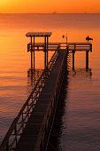Pier In Kemah