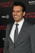 LOS ANGELES - SEP 12:  Oded Fehr arrives at the