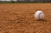 pic of infield  - Baseball on the Infield - JPG