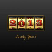 2013 - Lucky Year! Vector.