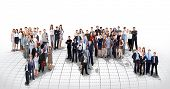 stock photo of population  - business people team - JPG