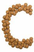 Ginger Nut Alphabet C