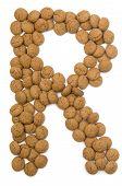 Ginger Nut Alphabet R