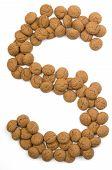 Ginger Nut Alphabet S