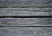 Weathered Wooden Decking poster