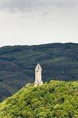 stock photo of william wallace  - William Wallace Monument - JPG