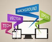 Technology Device Background
