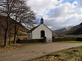 Lonely Scottish Church