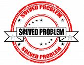 Gelöste Problem-Stempel