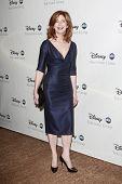 BEVERLY HILLS - 12 de JUL: Dana Delany na festa da Disney ABC Television Group verão All Star em julho