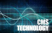 CMS tecnologia ou tecnologia de sistema de gerenciamento de conteúdo