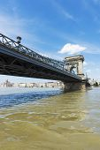 Budapest Chain Bridge Day View
