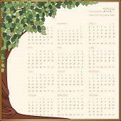 Tree Frame Calendar 2014.eps