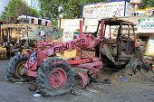 Pink plow