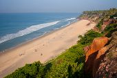 View Varkala Beach