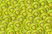 Fresh juicy kiwi fruit background