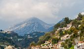 View Of Ligurian Alps Near Menton - French Riviera