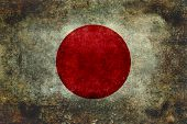 The national flag of Japan