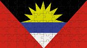 Antigua And Barbuda National Flag