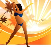 Bikini in Beach
