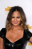 LOS ANGELES - JAN 14:  Chrissy Teigen at the 50th Anniversary Of Sports Illustrated Swimsuit Issue at Dolby Theater on January 14, 2014 in Los Angeles, CA