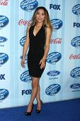 LOS ANGELES - JAN 14:  Jessica Sanchez at the American Idol Season 13 Premiere Screening at Royce Hall on January 14, 2014 in Westwood, CA