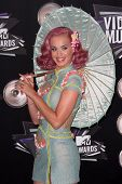 Katy Perry at the 2011 MTV Video Music Awards Arrivals, Nokia Theatre LA Live, Los Angeles, CA 08-28