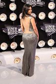 Kim Kardashian at the 2011 MTV Video Music Awards Arrivals, Nokia Theatre LA Live, Los Angeles, CA 0