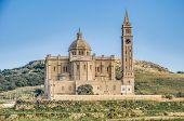 Ta' Pinu Church Near Gharb In Gozo, Malta