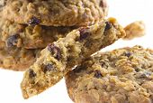 American Style Oatmeal Rising Cookies