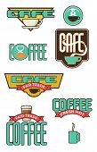 Ten Coffee And Cafe Emblems