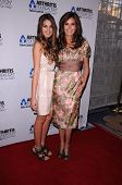 Teri Hatcher and Emerson Hatcher at an event thrown by the Arthritis Foundation Honoring Actress Teri Hatcher, Beverly Wilshire Four Seasons Hotel, Beverly Hills, CA 11-2-11