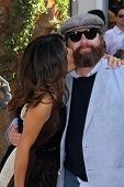 Salma Hayek, Zach Galifianakis at the
