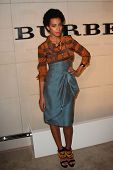 Solange Knowles at the Burberry Body Launch, Burberry, Beverly Hills, CA 10-26-11