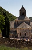 Senanque Abbey In Provence Region France