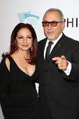 Gloria Estefan, Emilio Estefan Jr. at the Hollywood Bowl 90th Season Hall of Fame Ceremony, Hollywoo